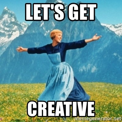 Sound Of Music Lady - Let's get creative