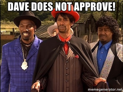 Dave Chappelle Player Haters - Dave does not approve!