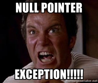 Khan - Null Pointer  Exception!!!!!