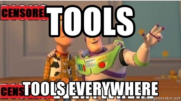 Toy Story Everywhere - tools tools everywhere