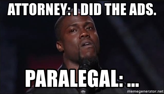 Kevin Hart Face - Attorney: I did the ADS. Paralegal: ...