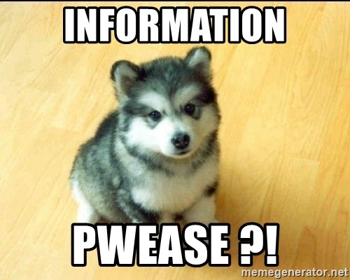 Baby Courage Wolf - information pwease ?!