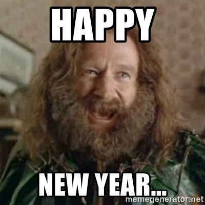 What Year - Happy  New Year...