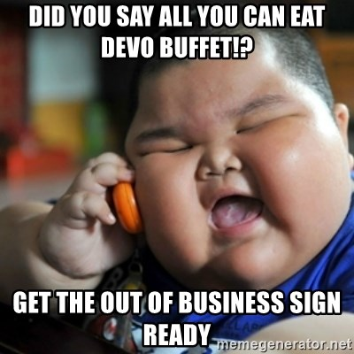fat chinese kid - Did you say all you can eat Devo buffet!? Get the out of business sign ready