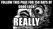 Mother Of God - Follow this page for 150 days of good luck Really