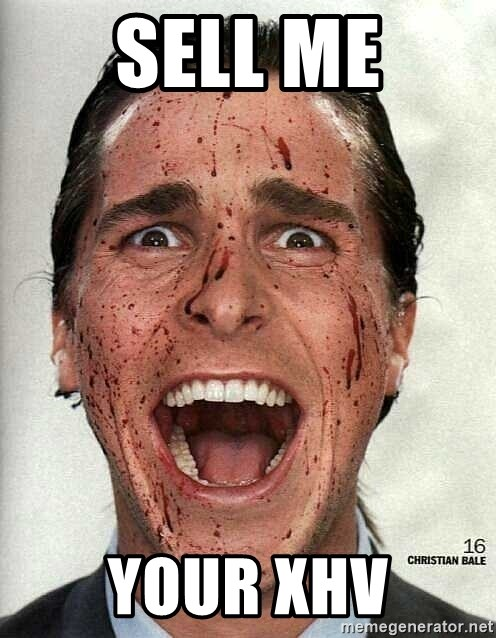 american psycho - SELL ME YOUR XHV