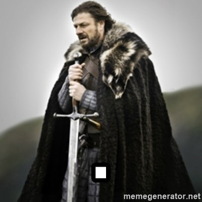 Brace yourselves. - .