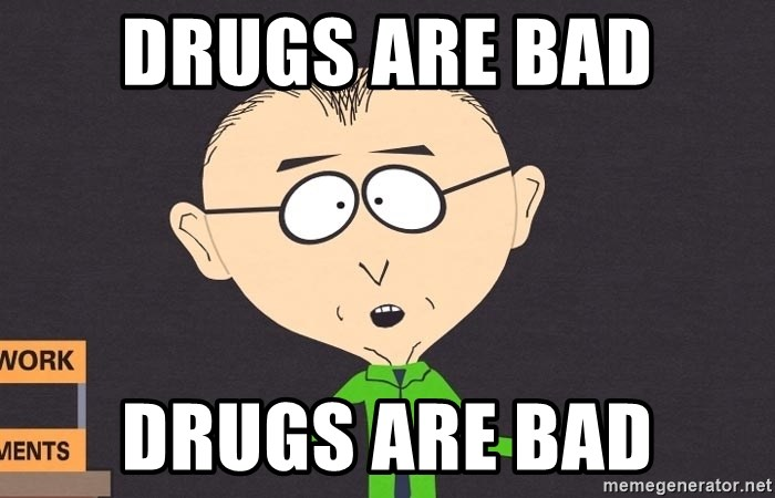 south park mkay - drugs are bad drugs are bad