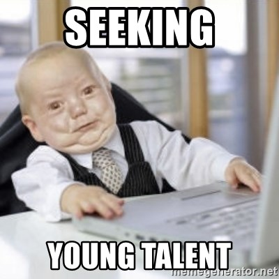 Working Babby - seeking young talent