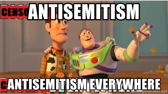 Toy Story Everywhere - Antisemitism antisemitism everywhere