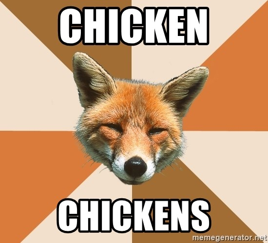 Condescending Fox - chicken  chickens