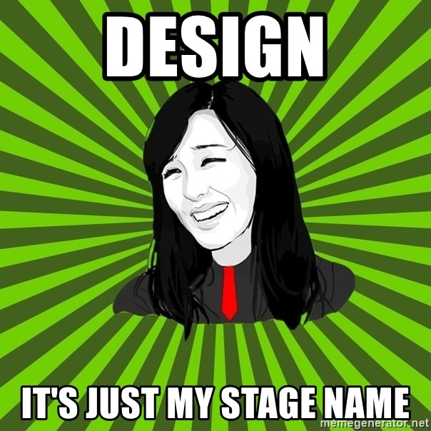 green fan - Design It's just my Stage name