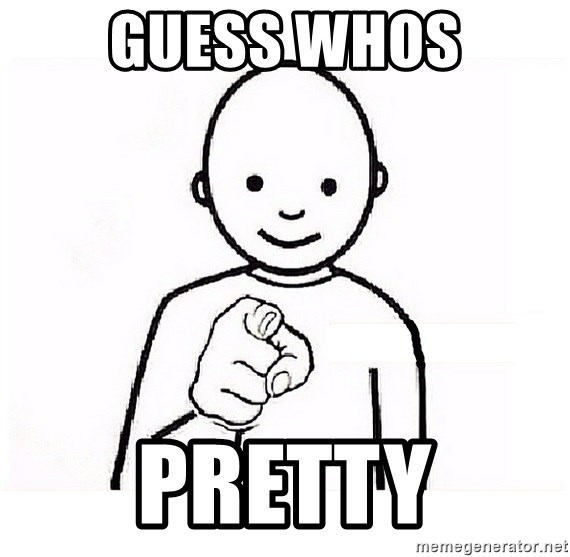 GUESS WHO YOU - GUESS WHOS PRETTy