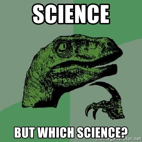 Philosoraptor - Science but which science?