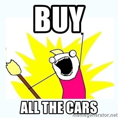 All the things - Buy All the cars