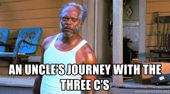 samuel l jackson black snake moan - An Uncle's Journey with the Three C's
